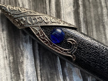 Load image into Gallery viewer, Athame/Dagger - Blue Glass