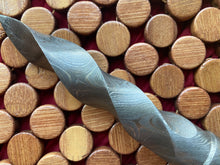 Load image into Gallery viewer, Athame/Dagger - Damascus Steel Kris Blade