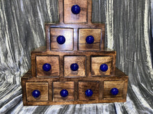 Load image into Gallery viewer, Apothecary Chest 10 Drawers Ceramic Knobs
