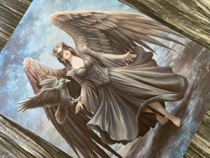 Raven Canvas Print - Anne Stokes 13822
