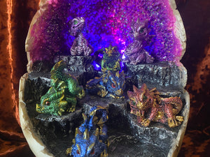 Dragon Egg with Baby Dragons