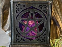 Load image into Gallery viewer, Moroccan Hanging Lantern, Pentagram