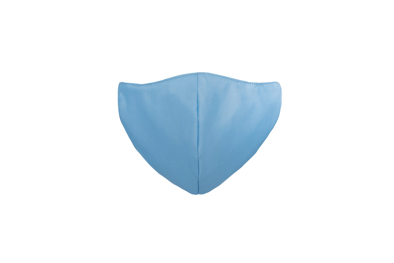 Baby Blue Japanese medi fabric reusable face mask (Adult & Child size) Featherweight available