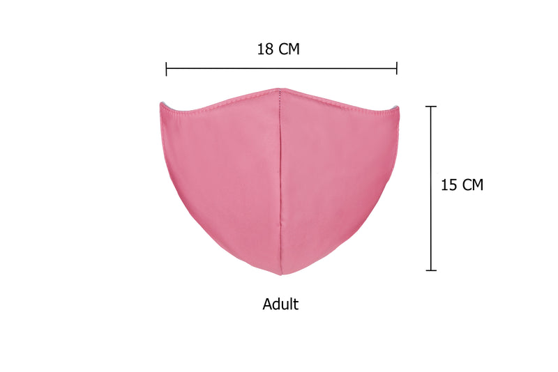Rosewood Pink Featherweight Japanese Medi Fabric Reusable masks