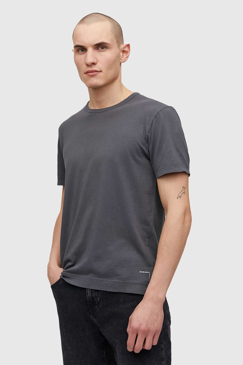 Armedangels Aantonio T-shirt Natural Charcoal