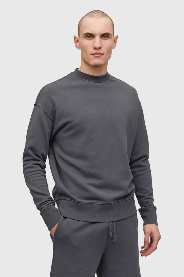 Armedangels Baadro Sweatshirt Natural Charcoal