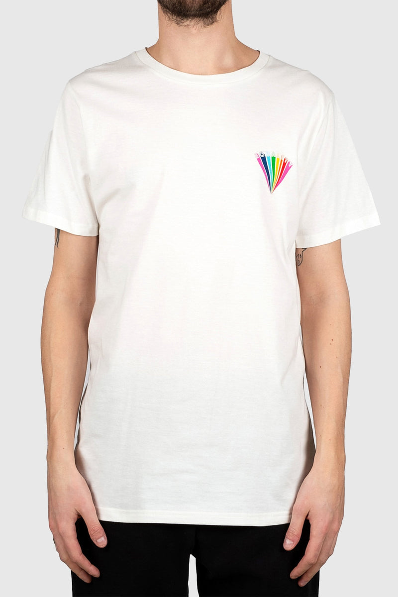 DEDICATED Stockholm Equality T-shirt White