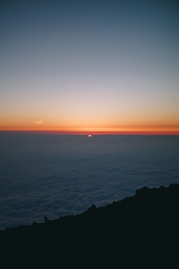 Sunrise from the top of Mt. Fuji