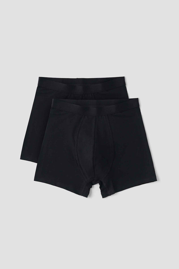 Organic Basics Organic Cotton Boxers 2-pack Black