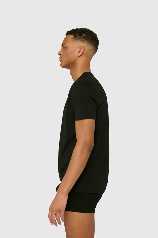 Organic Basics Organic Cotton T-shirt Black