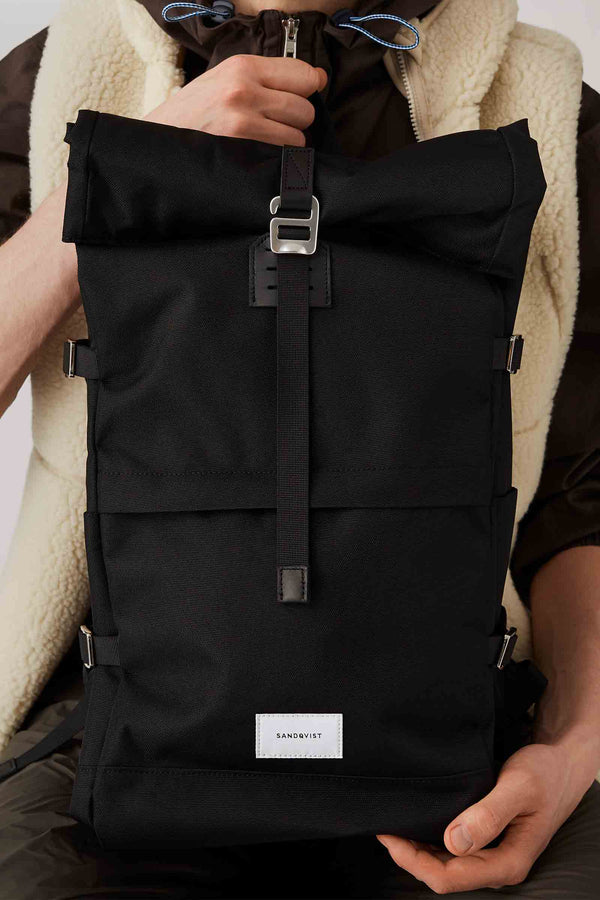 Sandqvist Bernt Backpack Black