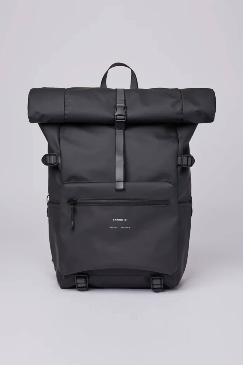 Sandqvist Ruben Backpack Black