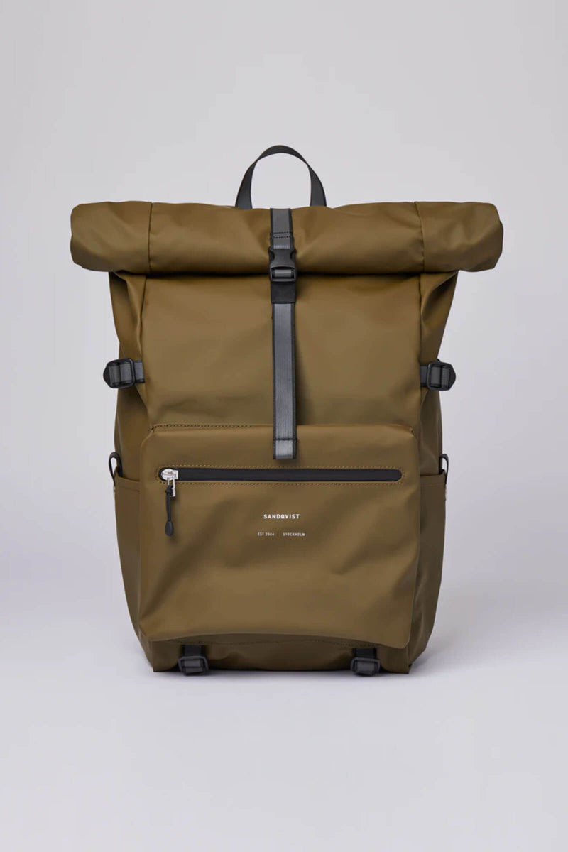 Sandqvist Ruben Backpack Olive