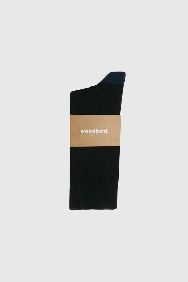 Woodbird Our Dress Socks Black