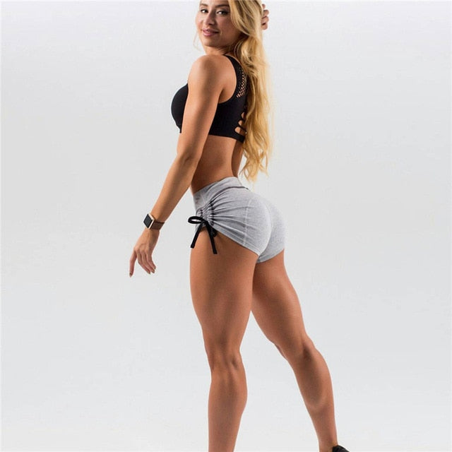 Fitness Drawstring Shorts