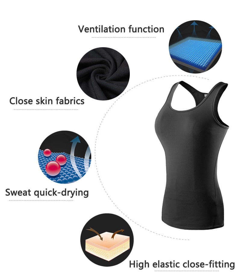 Sportswear Vest (with colour trim)