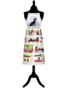 Dog Rules - Tottering By Gently Series Cotton Kitchen Apron from Samuel Lamont