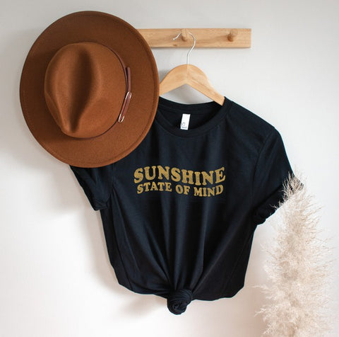 Sunshine State Of Mind Tee Black