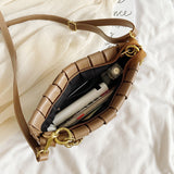 Weave Design PU Leather Bag