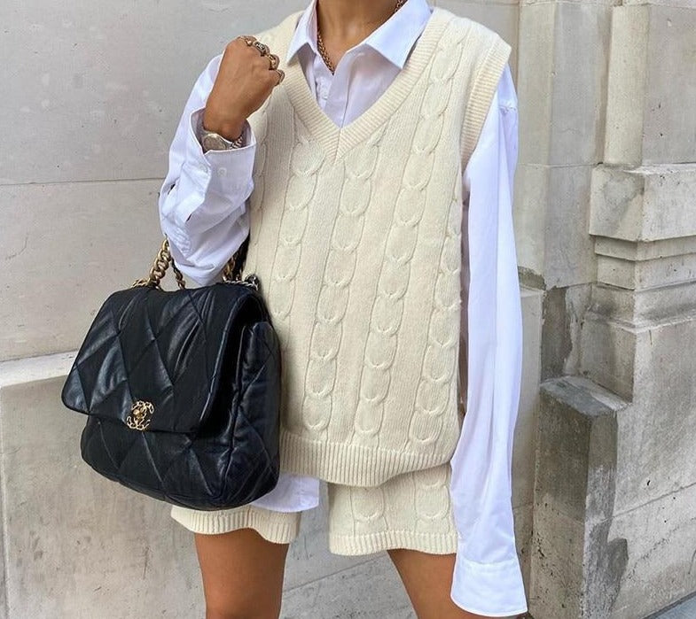 Sleeveless Sweater