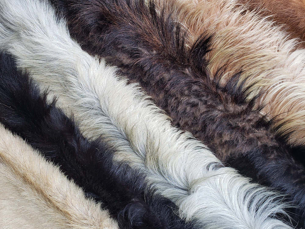 New! Genuine New Zealand Goatskins