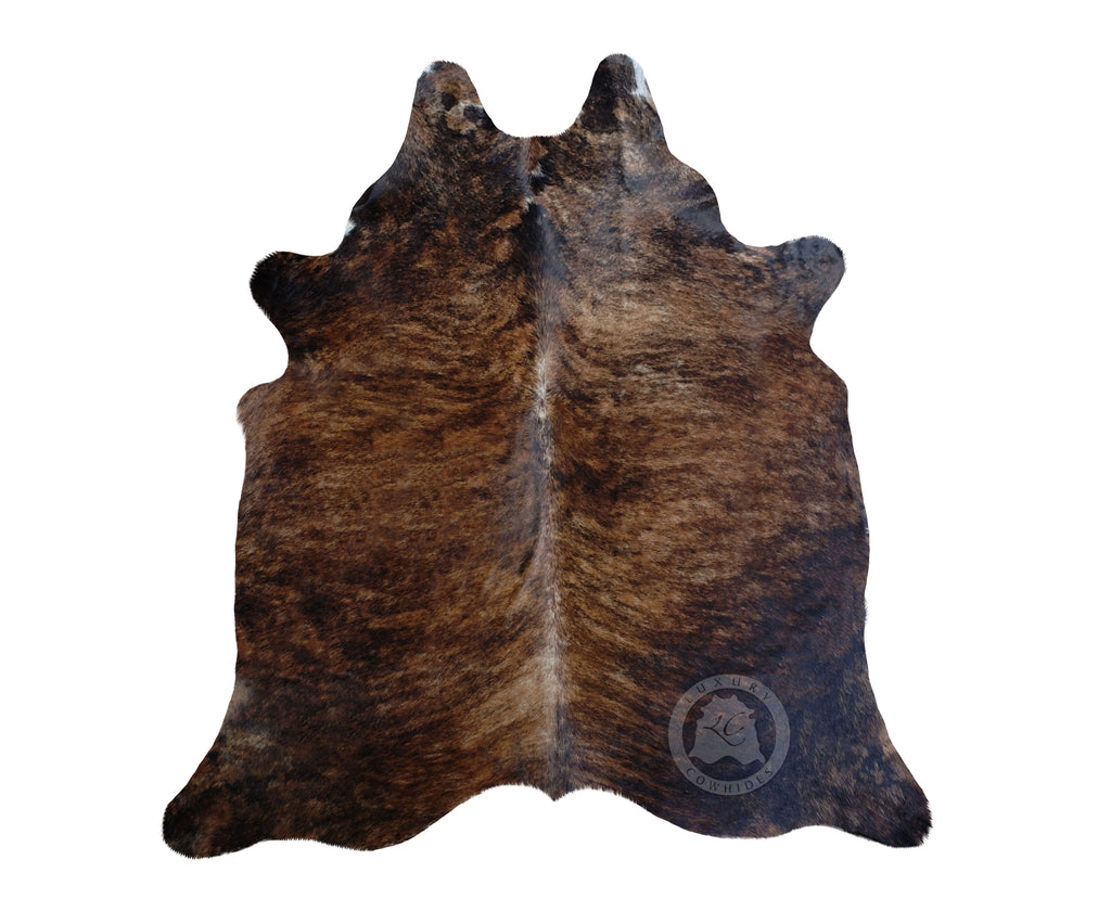 Brindle Dark Medium Cowhide Rug