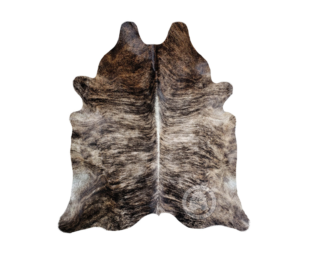 Brindle Blackish Cowhide Rug