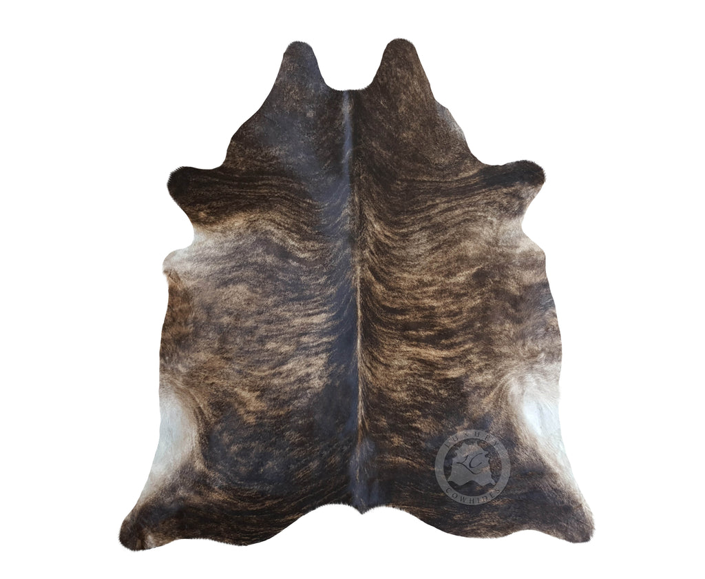 Brindle Dark Cowhide Rug