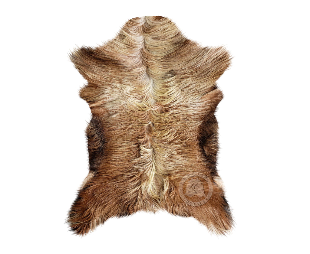 Exotic New Zealand Goatskin Long Hair