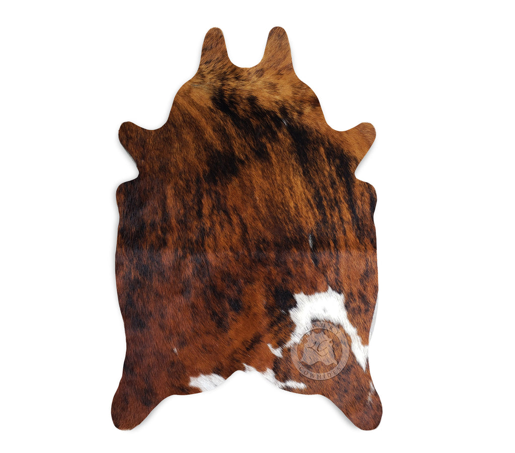 "Brindle Mini Cowhide Rug, 24""x 35"""