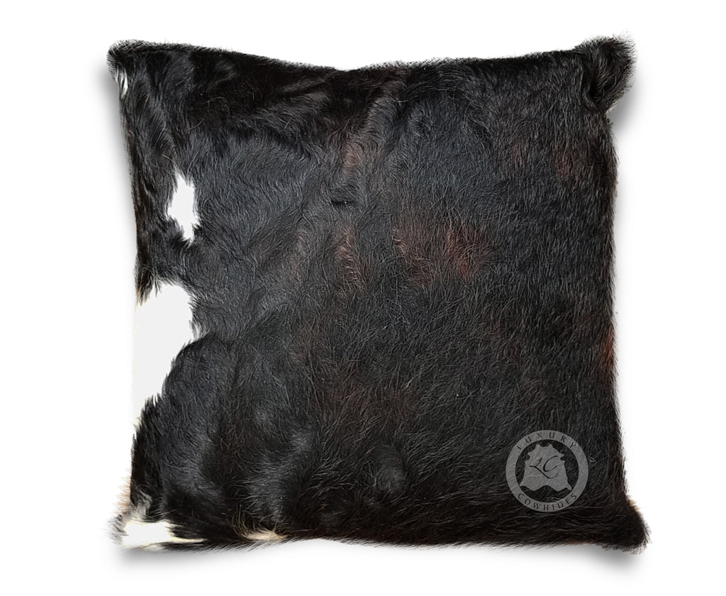 Tricolor Dark Pillow - Luxury Cowhides