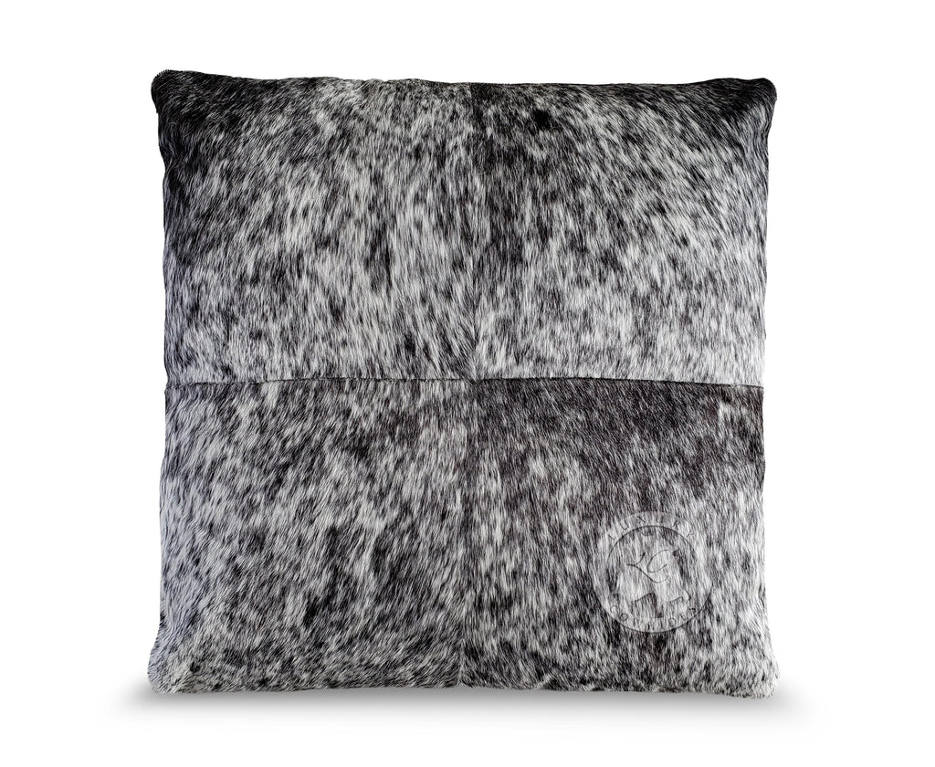 "Salt and Pepper Pillow 31""x31"""