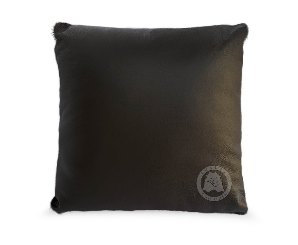 "Baby Zebra Black Stripes on Light Beige Cowhide cover Pillow, 15"" x 15"