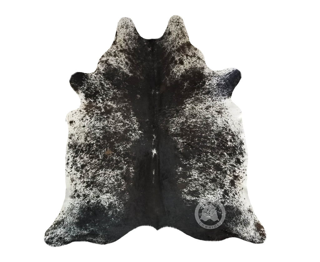 Salt and Pepper Cowhide Rug