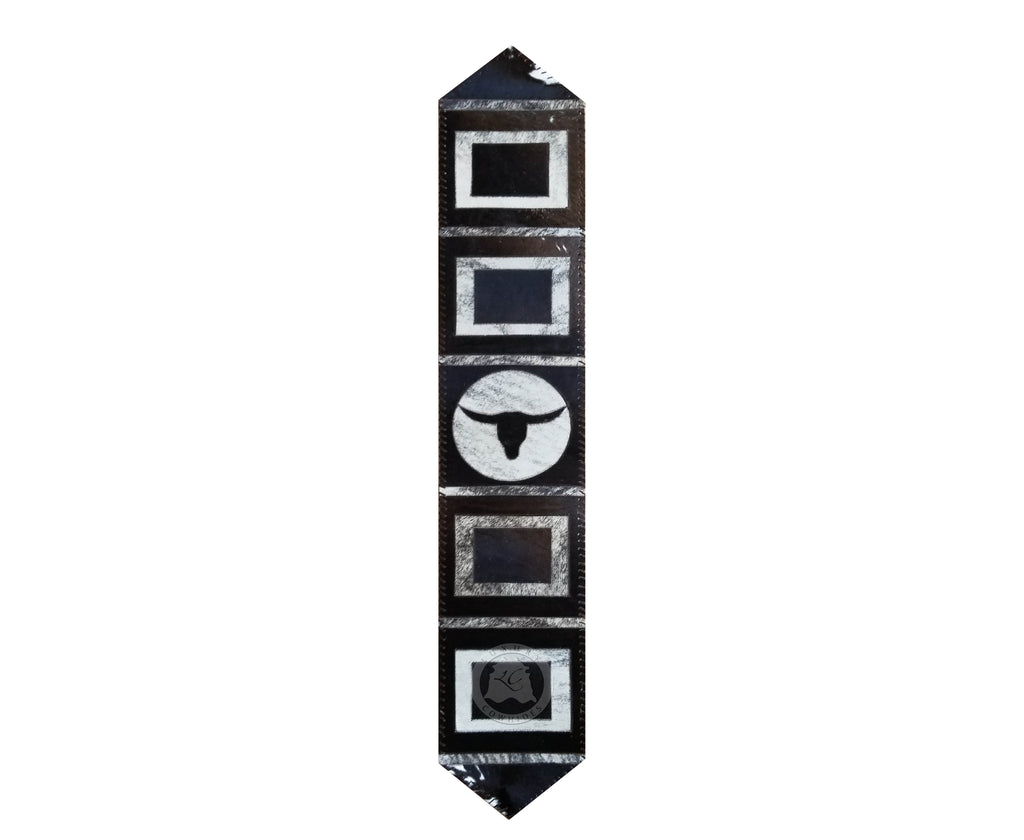 Cowhide Table Runners Longhorn - Luxury Cowhides