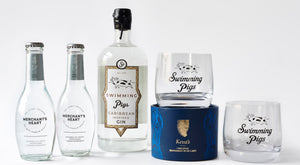 Swimming Pigs Gin Gift Bundle