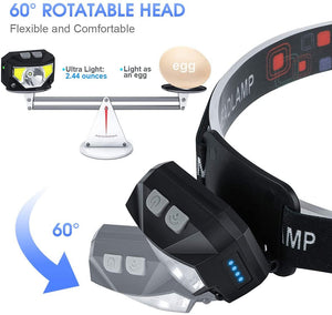 Rechargeable LED Headlamp - Barkley Eyewear