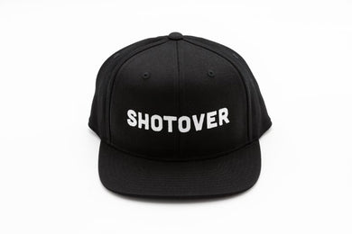 SHOTOVER Snapback Hat White Label