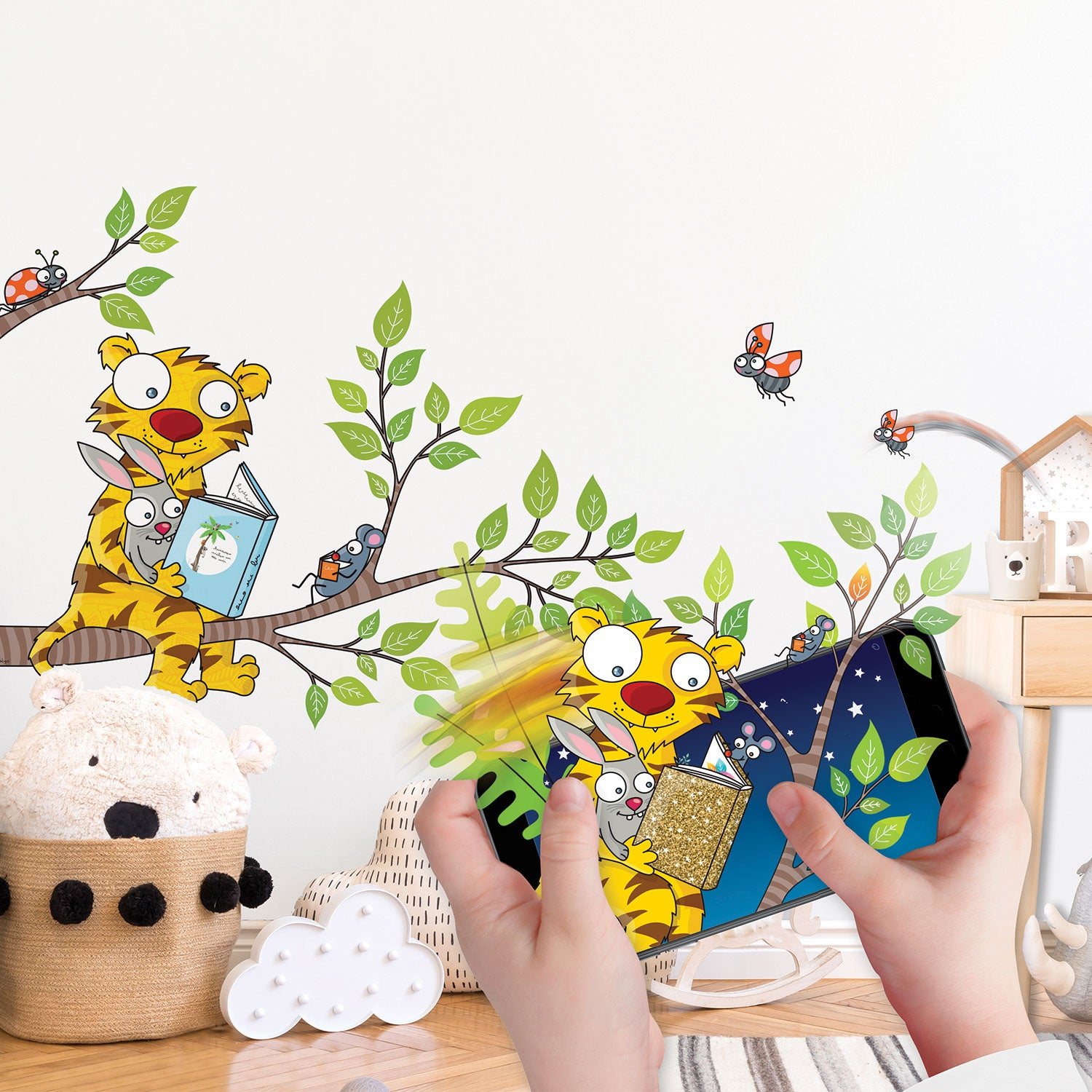 Interactive Room Decor - Wall Stories