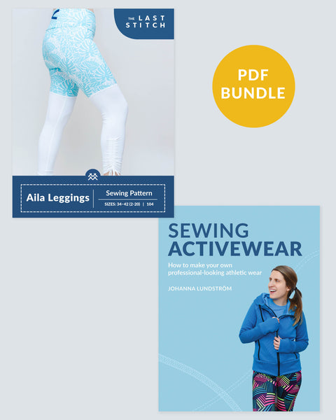 Aila Leggings PDF Pattern + Sewing Activewear Ebook Bundle (PDF)