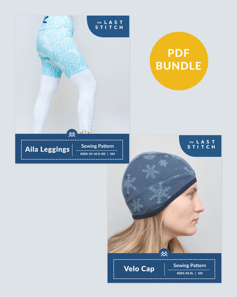 Aila Leggings + Velo Knit Cap – PDF Sewing Pattern Bundle
