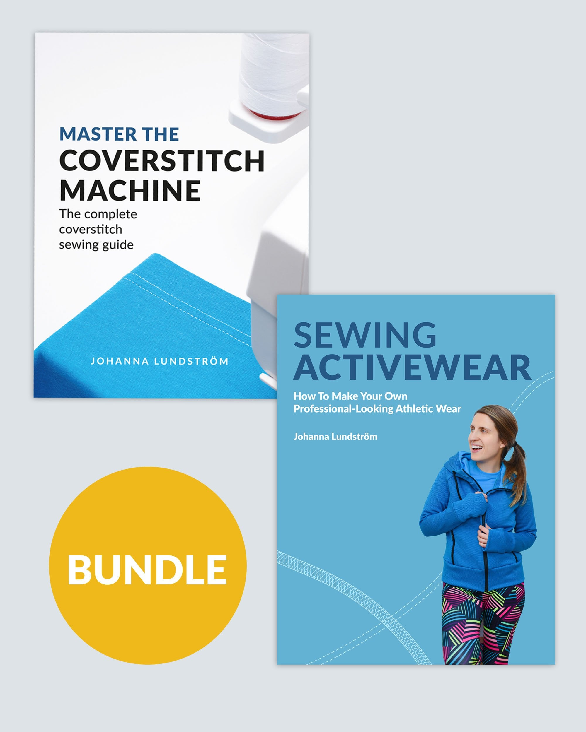 Master the Coverstitch Machine + Sewing Activewear – Ebook Bundle (PDF)