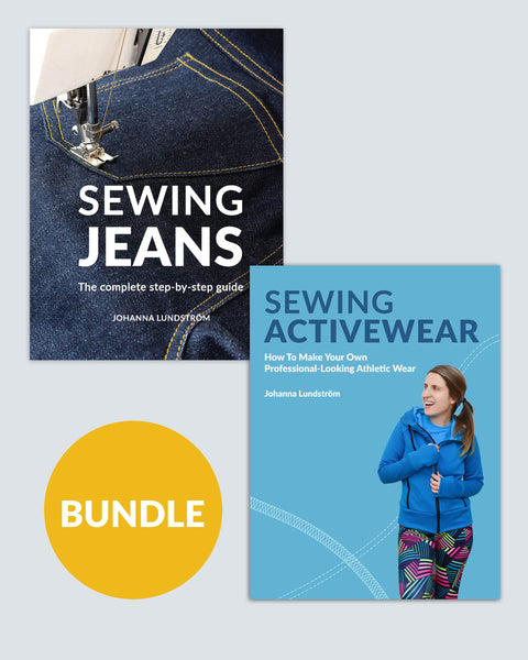 Sewing Jeans + Sewing Activewear – Ebook Bundle (PDF)
