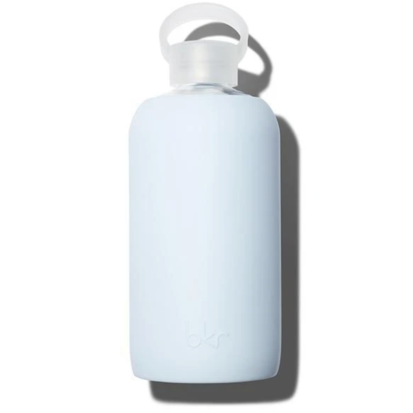 BKR GRACE 1L GLASS WATER BOTTLE