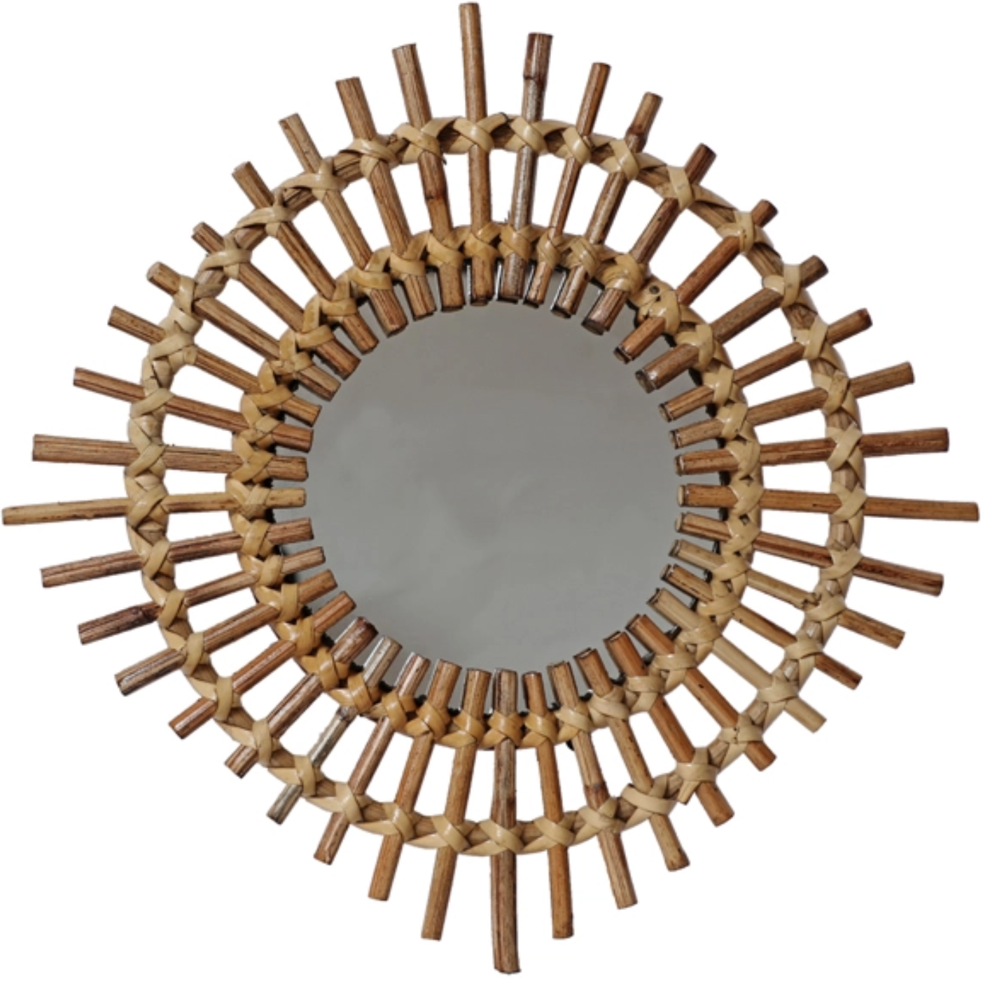 SUN SPIKED WALL MIRROR
