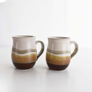SET OF 2 HANDMADE MUGS