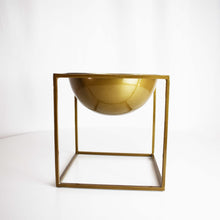 Load image into Gallery viewer, GOLD BOWL PLANTER