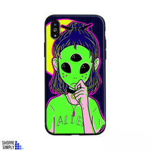 Load image into Gallery viewer, Alien iPhone case