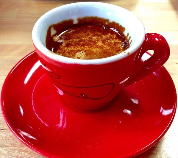 A delicious cup of Red Whale Expresso