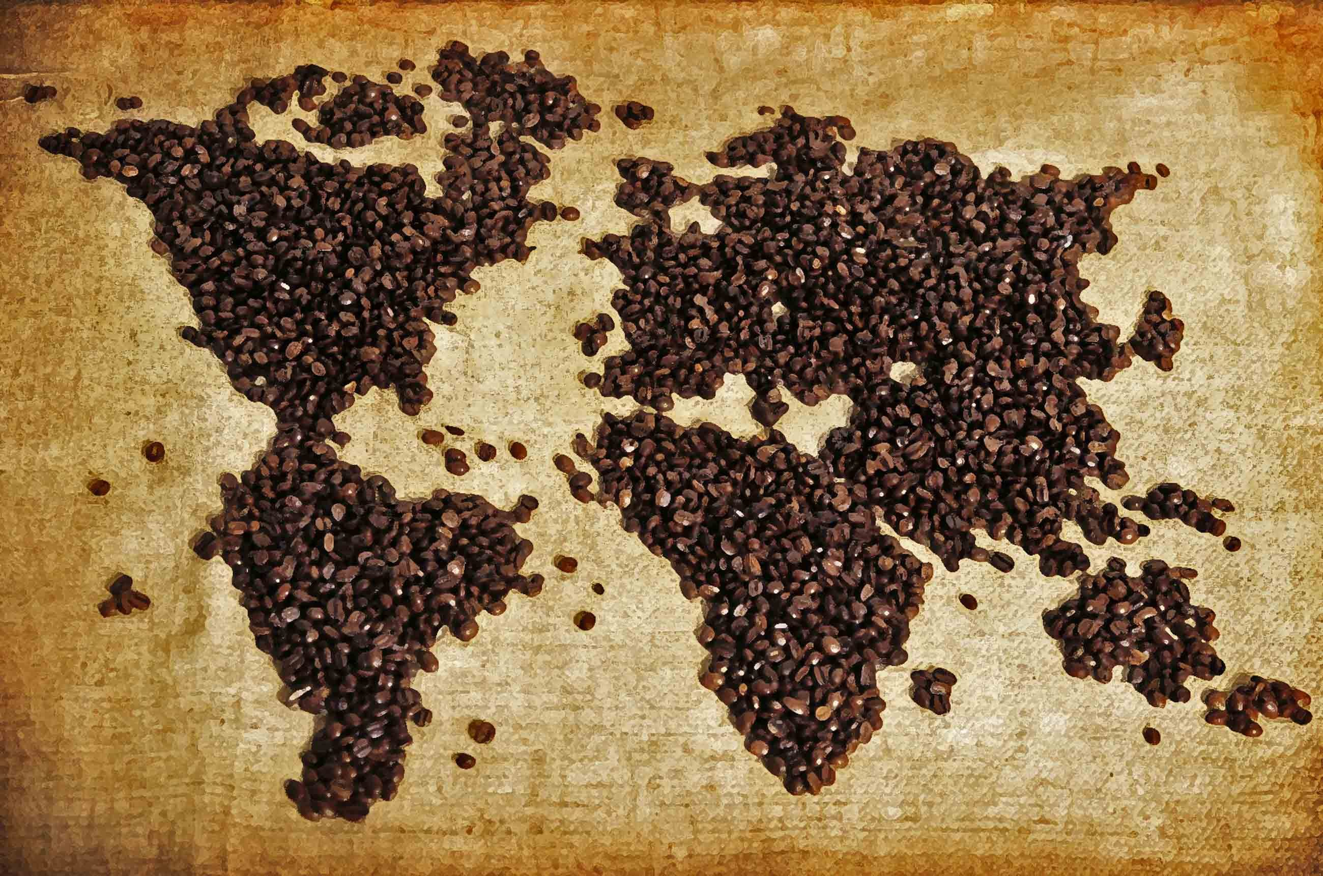 The history of coffee red whale coffee ethically for Mundial decor international nv
